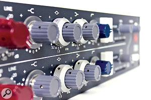The classic 1073 EQ controls.