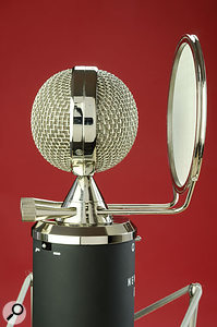The stylish pop shield avoids the need to clip something ugly to your mic stand... and might even impress the odd vocalist!