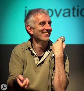 Nick Rothwell of Cassiel, SOS author.
