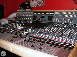 The main mixing desk at Nimrod is this Neve 51.