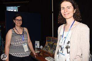 Nina Richards and Zoë Blade of Transistor Sounds Labs.