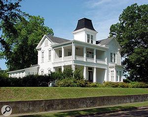 Norbert Putnam's current home in Mississippi.