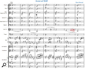 A short orchestral piece by your author, notated by Notion.