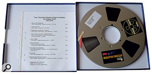 Opus 3 Analogue Master Tapes
