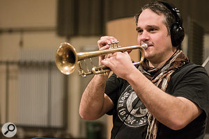 One of BBR's three trumpet players.