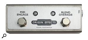 Origin Effects RevivalDrive footswitch.