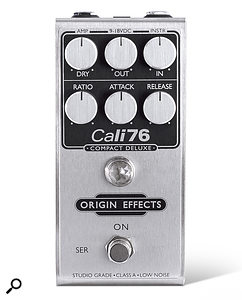 Origin Effects Cali76 Compact & Cali76 Compact Deluxe Compressor Pedals