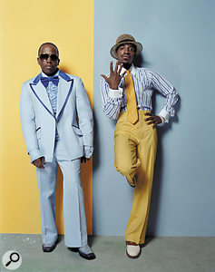 The Speakerboxx/The Love Below project saw Antwan Patton (left) and Andre Benjamin working largely independently to produce two albums' worth of material.