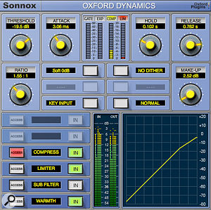 Sonnox Oxford Dynamics