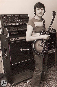 Paul White with Roland GR-500 and Transcendent 2000.