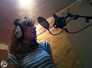 Lucy singing