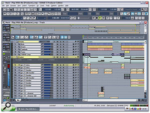 Cakewalk's Sonar 5 x64 Edition is still the only major MIDI + Audio sequencer that offers both 32-bit and true 64-bit versions on the same CD-ROM.