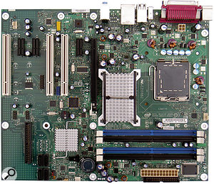 My choice of motherboard was an Intel DB965LT, for its proven audio performance, comprehensive selection of three PCI, three PCI Express x1 and one PCI Express x16 expansion slots, plus two onboard Firewire ports.
