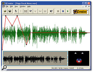 QSound's plug-ins and utilities are extremely effective if you want sounds placed 'beyond the speakers' for spot effects or ultra-wide sound beds.