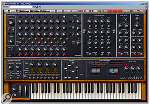 With the audio quality from soft synths such as Arturia's Moog Modular V being so good, is there any longer a need to worry about replacing hardware with software?