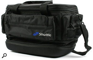 Taking your mini-PC on the road needn't be a worrying experience if you buy a suitable carrying case, such as this one from Shuttle.