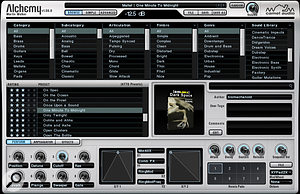 A solid-state drive can really speed up the auditioning of presets in asample-heavy VST instrument such as Camel Audio's Alchemy shown here.
