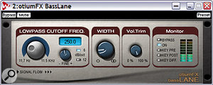 If you want to ensure that your tracks are vinyl-compatible, run them through the freeware Basslane, which collapses bass frequencies below a certain threshold to mono.