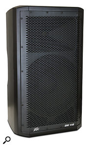 Peavey DM112 active PA speaker.