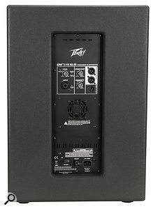 The DM115 Sub's outputs provide for two high-pass-filtered outputs and one full-range 'thru' signal, but won't allow stereo operation from a  single subwoofer.