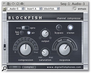 Blockfish, from the digitalfishphones freeware Audio Unit bundle, is a great little plug-in that I've found forgets its settings. A quick screen-grab can help you to dial in those killer settings once more.