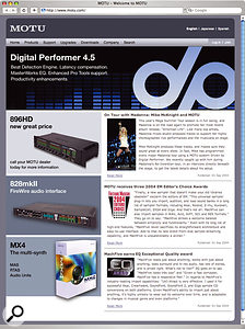 Digital Performer v4.5 First Look