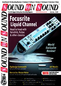 """Focusrite's Liquid Channel innovative convolution-based processor: """"I think everyone who wanted one bought one""""."""