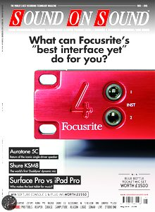 Focusrite describe the Red 4Pre as the pinnacle of their audio interface range.