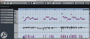 5b. When turning a  sung/hummed/whistled part to MIDI, you'll probably need to do a  little extra editing work on the pitch-bend data that results!