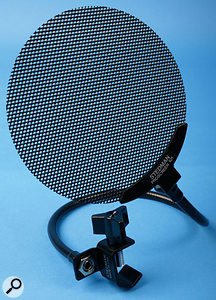 We all know you need a pop shield for recording sung vocals, but don't forget they're essential for speech recording too.
