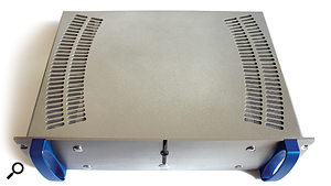 The ATC P1 Pro power amplifier.