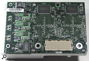 The Dual 800MHz Powerlogix upgrade card used in the 450MHz Power Mac G4 tower.