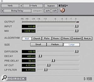 Figure 5: Boing Delay settings