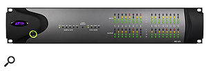 Avid's HD I/O interfaces have a built-in fan that could prove problematic in a quiet recording environment.