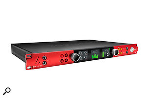 The best of both worlds? Focusrite's Red 4Pre combines native Thunderbolt interface capability with the ability to act as a converter for an HDX rig.