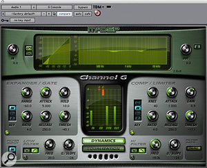Choosing Channel Strip Plug-ins