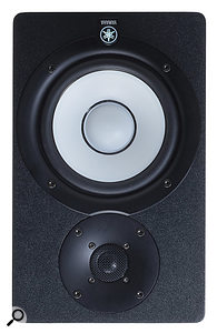 Yes, this speaker is upside down! But that's sometimes all that's needed to avoid placing the woofer midway between the floor and ceiling.