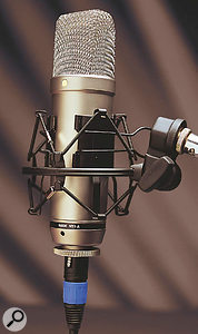 You may find that the Rode NT1A  (left) sounds as good as a Neumann U87 on your voice.  But it may not, so it's important that you try before you buy.