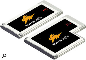 The Express Card is available in two sizes: 34mm and 54mm.