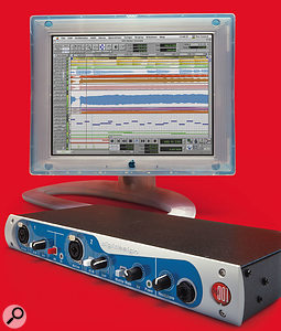 The Digi 001 kick-started Digidesign's expansion into the project-studio market, with the cut-down Pro Tools LE software.