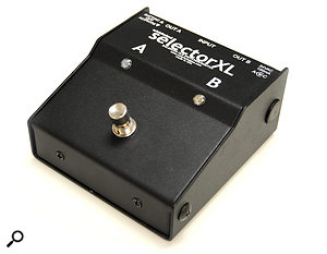 There are several A/B switchers suitable for unpowered dynamic mics, but the Whirlwind Selector XL also allows you to change the destination of aphantom-powered microphone.