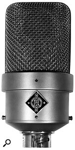 The Neumann M50, the 'omni' mic traditionally used in the Decca Tree, partly because of its increased directionality at high frequencies.