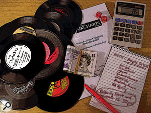 Releasing a record commercially requires a fair amount of paperwork.