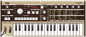 The Korg Microkorg represents an affordable way to add synth sounds to your live setup.