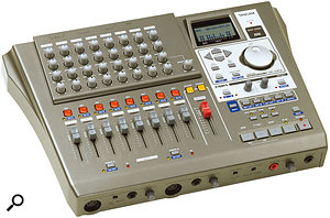 Digital recorders like the Fostex VF80EX and Tascam DP01FX offer affordable eight-track recording.