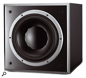 Subwoofers which employ a closed cabinet design, like the Dynaudio BM9S, can offer a more precise low-frequency response, but at the expense of efficiency.