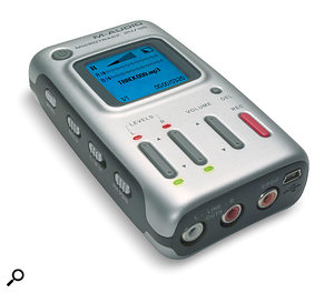 A dictaphone or a portable recorder like the M-Audio MicroTrack can be handy for capturing new ideas when inspiration strikes.