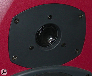 A dented tweeter can be repaired but its performance will be permanently compromised.