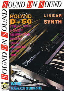 Roland D50 as featured on SOS front cover.