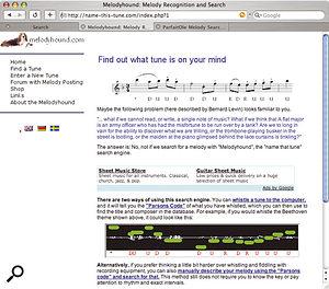 Melodyhound website.